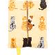 ティッシュケース おすわり猫ならべ