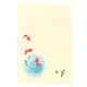 和はがき 水彩金魚