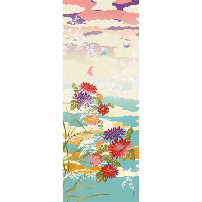 絵てぬぐい 秋の夢