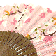 てぬぐい扇子 幸せ桜