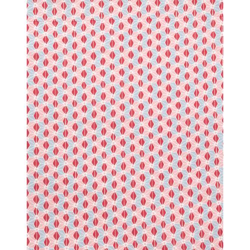 てぬぐいのはんかち 金封 兼用 麻の葉乙女 ピンク