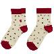 てぬぐい柄の靴下 喫茶店(サイズ:23〜25cm)