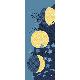 絵てぬぐい 満ちる秋月
