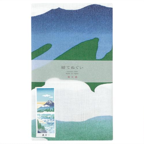 絵てぬぐい 夏富士