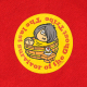 ジップパーカーL ひとっ風呂KITARO アカ
