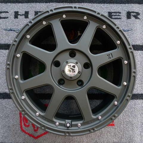 08−12y ジープ チェロキー 【18インチ】 ホイール ディーラー車/車検対応 【フラットブラック】※1本単価