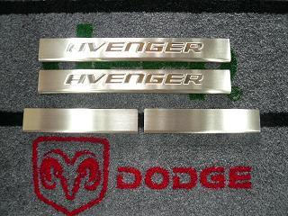 在庫整理特価】08y− ダッジ アベンジャー 純正 ドアエントリー シルプレートセット