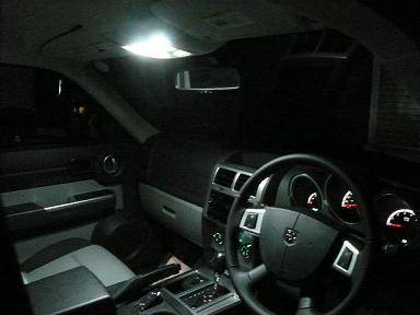 08−12y ジープ チェロキー D車用・弊社オリジナル専用設計 LEDルーム灯ランプ・バルブセット