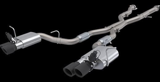 18y- ジープ グランドチェロキー トラックホーク用 QTP可変バルブ付きパフォーマンス エキゾーストキット  ※要選択