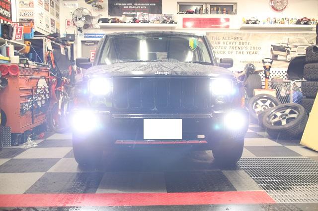 06−07y ジープ コマンダー 右H/D車 専用設計 オリジナルHIDキット 【ヘッドライト】 (6000K)
