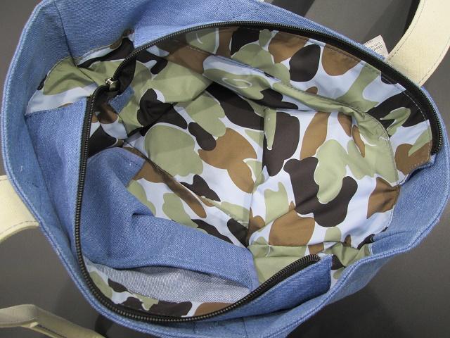 オフィシャル Jeep デニム セブンスロット トート バッグ ※薄いデニム生地