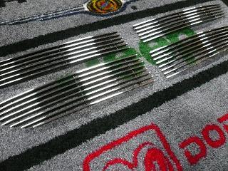 07y− ダッジ アベンジャー フロント グリル キット 【ビレット】
