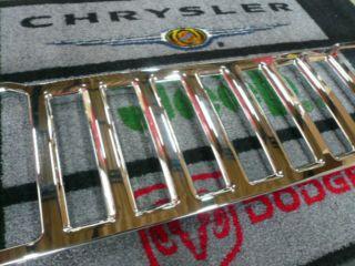 08−12y ジープ チェロキー フロント グリル カバー 【クロームメッキ】