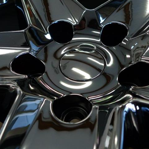 06−10y ジープ コマンダー 20インチ ホイールセット 【ブラッククローム・WH/SRT8デザイン仕様】
