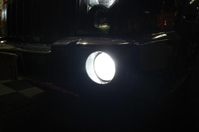 06−10y ジープ コマンダー LED フォグランプキット 左右セット 【ホワイト/明るさ3200ルーメン】