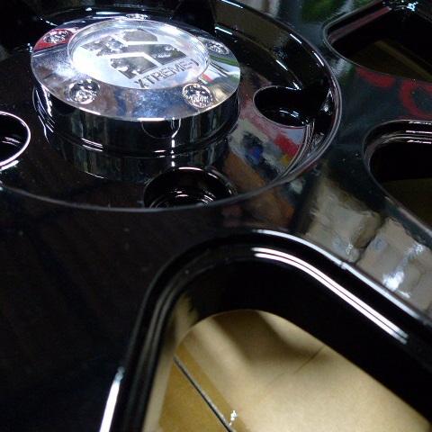 08−12y ジープ チェロキー 17インチ ホイール ディーラー車/車検対応 【グロスブラック塗装品】※1本単価