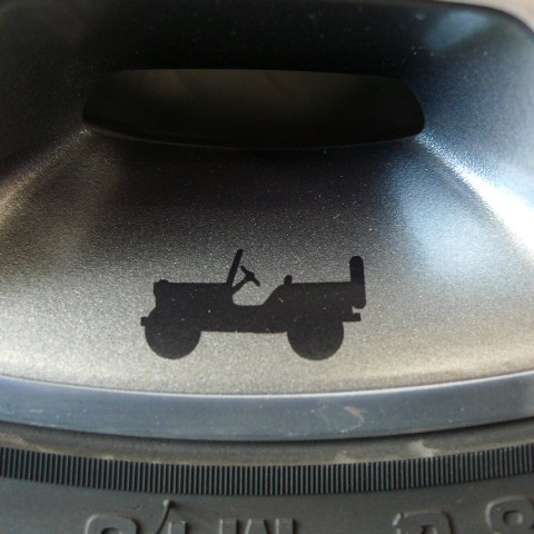 【限定1セット特価】 07y− ジープ ラングラー 13y ルビコン純正 17インチ タイヤホイール 5本セット 【ガンメタ/シルバー】