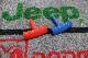 汎用品 ラングラー/コンパス/パトリオット/チャレンジャー/300C/ラム等 T型ハンドル シフトノブ 【レッド/ブルー】※要選択