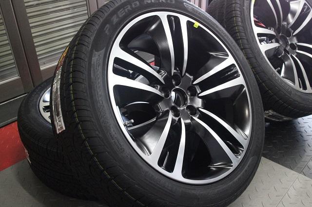 【限定1セット特価】11y− ダッジ チャージャー 純正 20インチ ホイール&タイヤ セット【SUPER BEE/YELLOW JACKET デザイン】