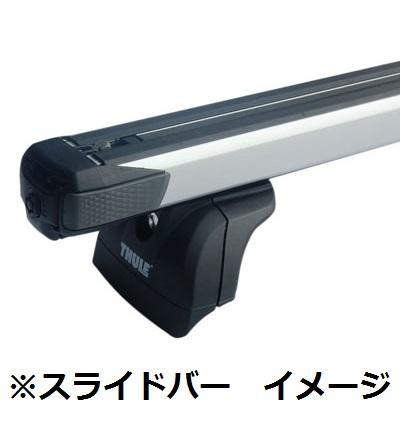 06−10y ジープ コマンダー用 ベースキャリア フット&クロスバー セット 【THULE製】 ※要選択
