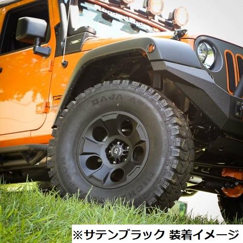 07y− ジープ ラングラー 17インチ アルミホイール 【Rugged Ridge製/DRAKONタイプ】 ※要選択