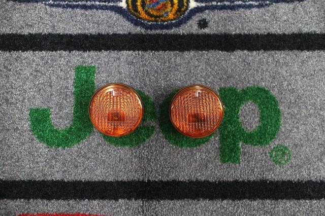 【テイクオフパーツ】 07y− ジープ ラングラー 純正 ディーラー車 フロントウインカー 左右セット