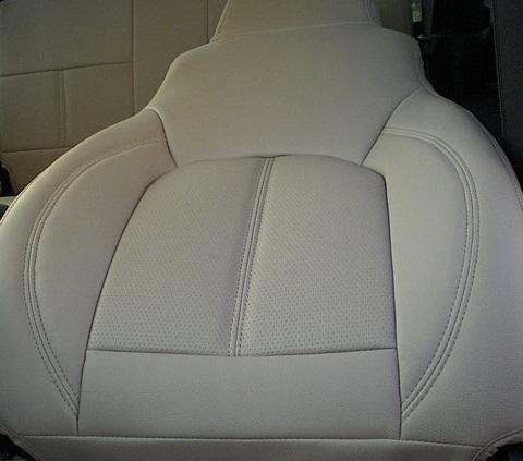 【在庫整理特価1セット】11y− クライスラー 300 ディーラー車 専用設計 レザーシートカバーセット 【ベージュ】【SPOLTタイプ】