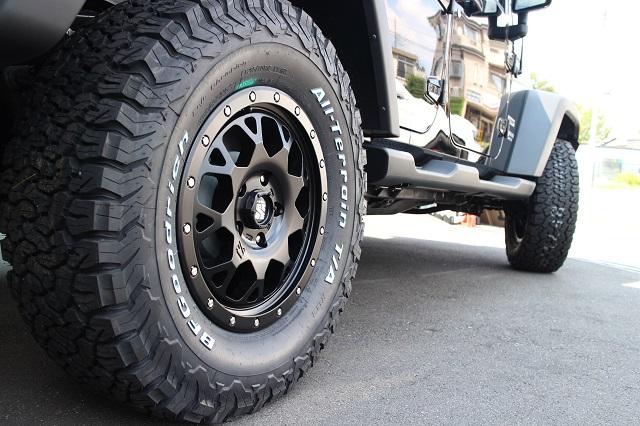 06y− ジープ コマンダー ホイール ディーラー車/車検対応 【XJ04/18インチ】【サテンブラック】 ※1本単価