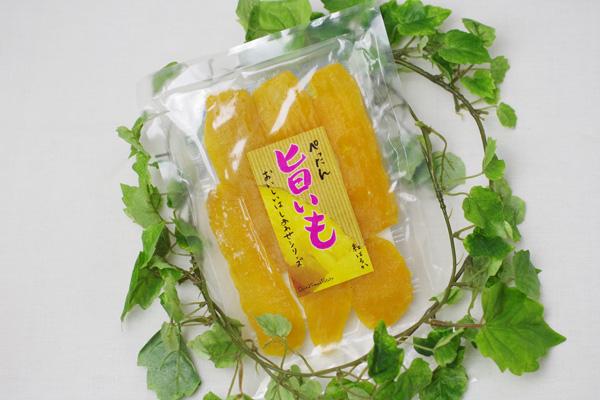 【無肥料・自然栽培】干し芋(ぺったん旨いも)100g 紅はるか使用【v200】