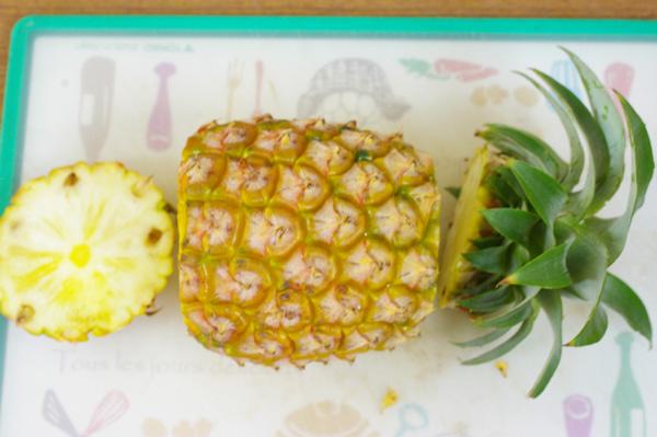 【無肥料・自然栽培】パイナップル すっきりした甘みで舌を刺すようなピリッとした感じもない[沖縄県:山本寛永さん]【v800】【7月22日(月)入荷分】