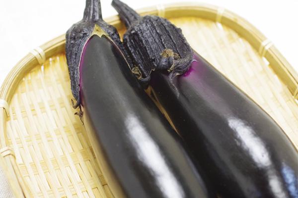 【無肥料・自然栽培】茄子[京都府:ポトンファーム]【v400】