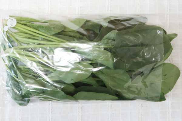 【無肥料・自然栽培】ほうれん草[徳島県:阿波ツクヨミファーム]【v400】