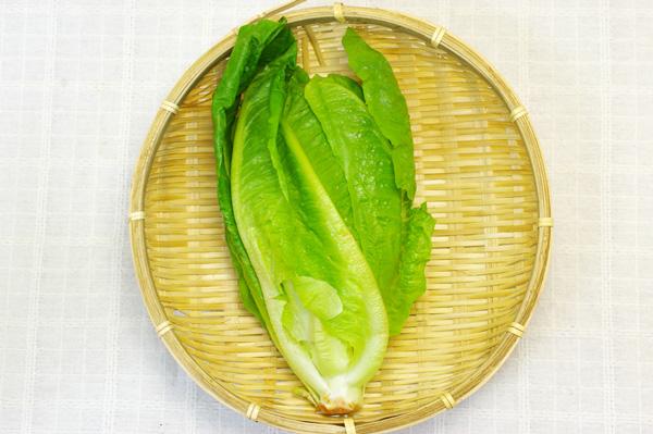 【無肥料・自然栽培】ロメインレタス シーザーサラダの具材にも[徳島県:すばる農園]【v400】