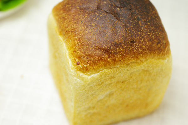 【無肥料・自然栽培】自家製酒種酵母で作る食パン 【6月9日(火)製造分】【v600】