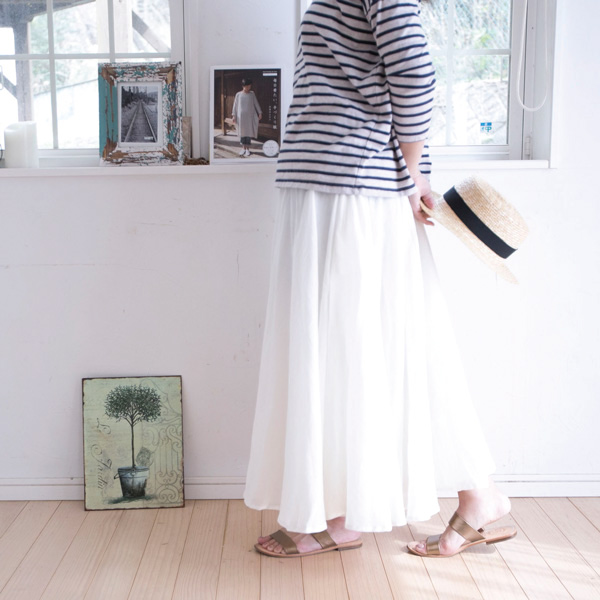 ロングスカート【メール便不可】  -ST0358