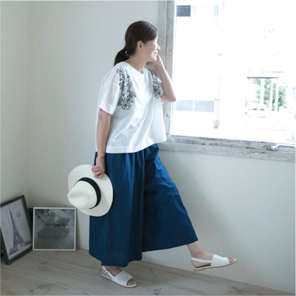 ワイドパンツ【メール便可】  -PT0606