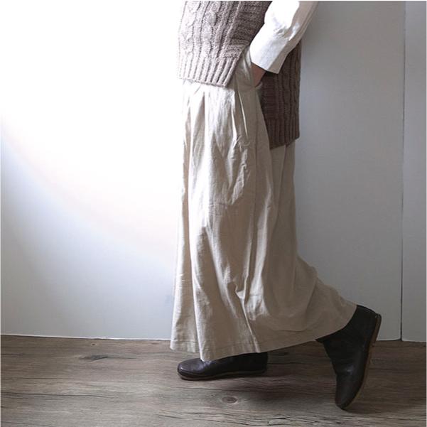 ガウチョパンツ【メール便不可】  -PT0589