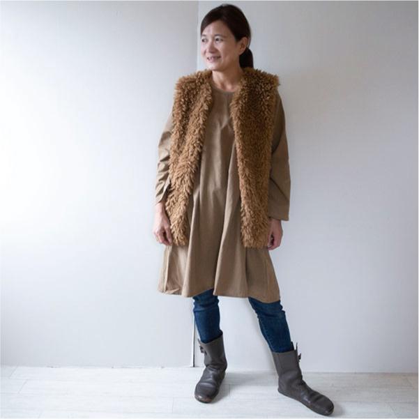 コットンワンピース【メール便可】  -NP1178