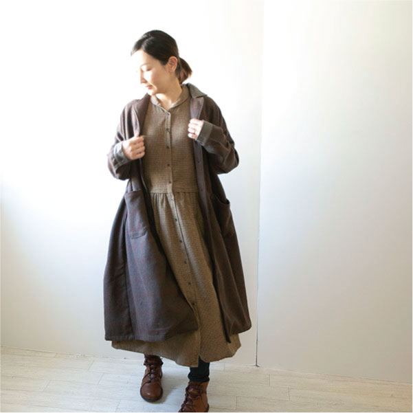 コート【メール便不可】  -CT0148
