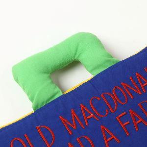 [わけあり品]ハワイアンキルト 知育玩具 OLD MACDONALD (オールド マクドナルド) 青