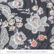 スカート Sol (ソル) オレンジの小花 [フラメンコ用][スペイン直輸入][送料無料]