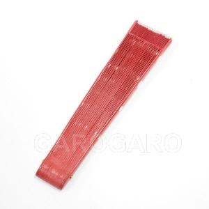 水玉模様の小さなペイントアバニコ ミニ (21cm | 片面張り) [小さい] [フラメンコ用] [スペイン直輸入] [おまかせメール便可]