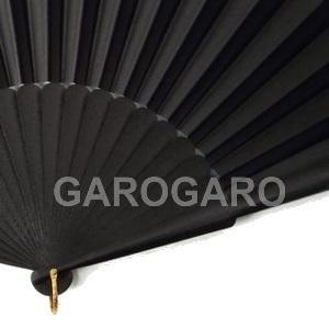 [わけあり品]裏は黒色 両面張りのアバニコ (無地 | 透かし彫り無し) SLV-D (在庫限り) [品質][フラメンコ用][スペイン直輸入]