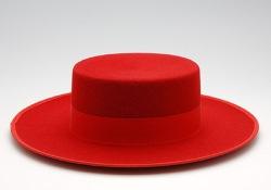 [在庫限りの特別価格] コルドベス (帽子) 羊毛 裏地つき [フラメンコ用] [スペイン直輸入] [大型送料加算対象品 : 1箱につき550円] [HMBR]