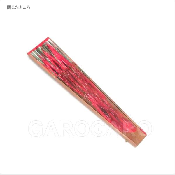 ペイントアバニコ FloresRojas(赤色の花) (23cm・片面張り) ナチュラル[小さい][フラメンコ用][スペイン直輸入][メール便]
