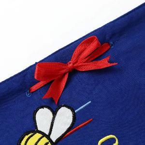 [わけあり品]ハワイアンキルト 知育玩具 HOW TO COUNT (ハウ トゥー カウント) 青