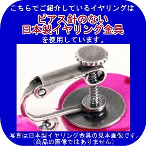 [針なし] ラインストーンのイヤリング Noa(ノア) (クリップ & ねじの日本式留め具)[フラメンコ用] [スペイン直輸入] [メール便]