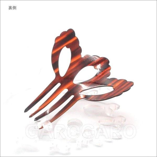 【発表会におすすめ】ペイネタ(櫛) Petalo(ペタロ) 色:茶(べっ甲風) フラメンコ用 [スペイン直輸入]