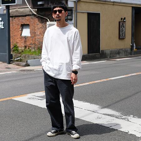 KURO(クロ)962204 SULFUR DYED CHINO PANTS サルファーダイチノパンツ