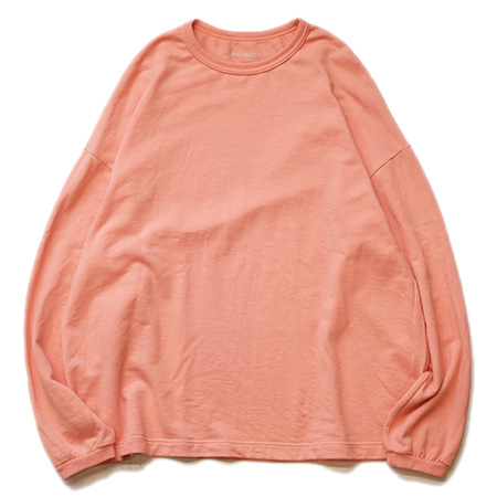 5PRODUCT(ファイブプロダクト) product13  Mini Urake Crew Neck L/S ミニ裏毛クル-ネックジャージロンTee